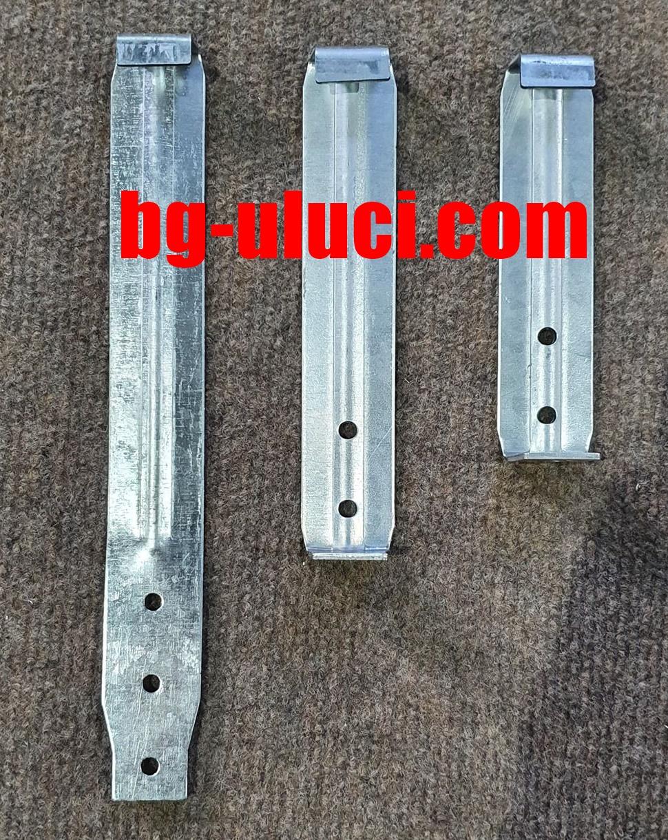 Изработка на конзоли и обтегачи 5 и 6 инча безшени улуци с дебелина на метала 2мм  за повече инфо за заявки и цени на 0988 355 755 и 0888 88 88 07